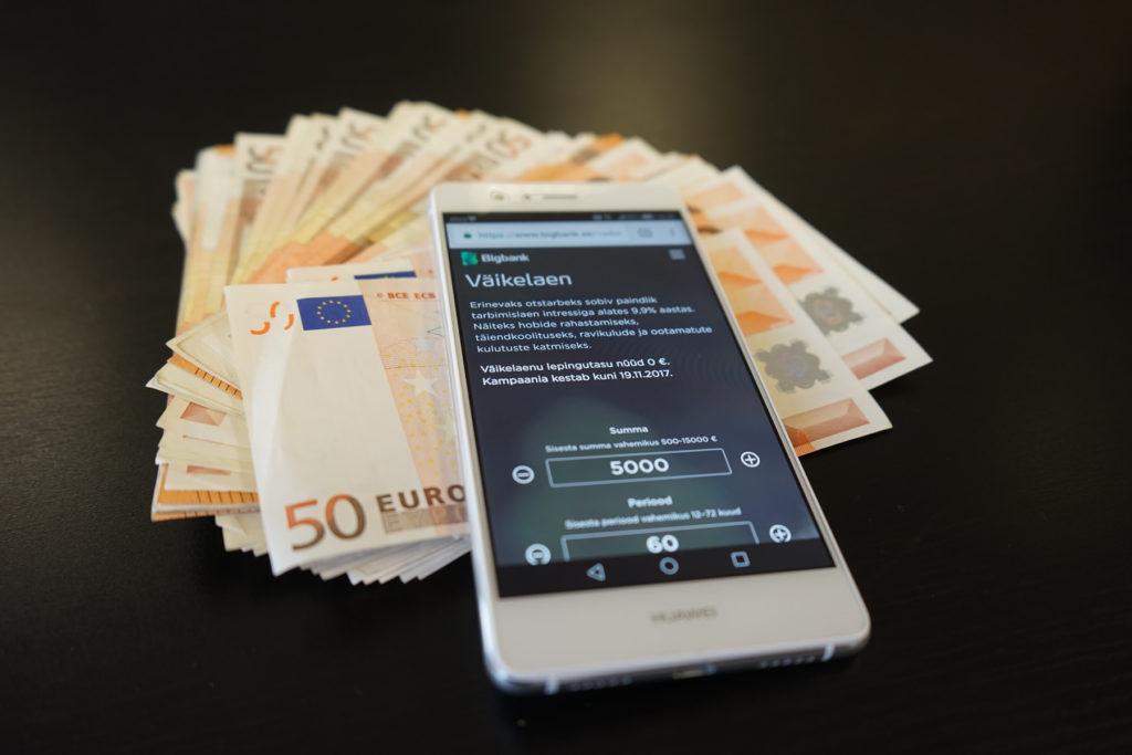 SMS-laenu